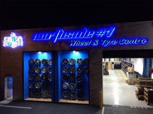 wheel and tyre centre